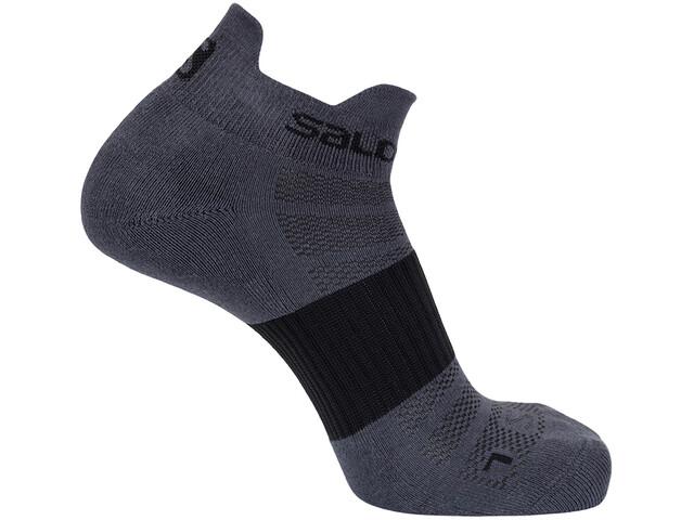 Salomon Sense Socks 2 Pack forged iron/vivid blue